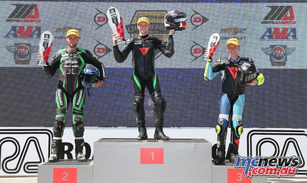 Superstock 600 Race 2 Podium - Image by Brian J. Nelson