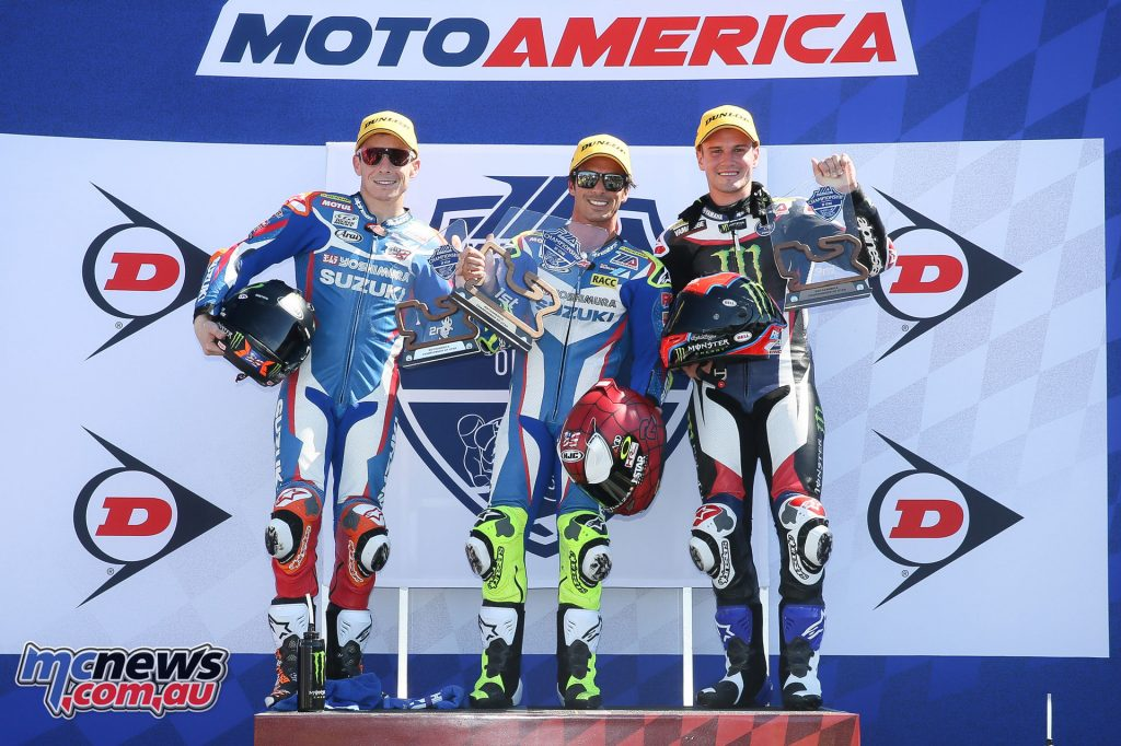 Elias tops the Superbike podium in Race 2