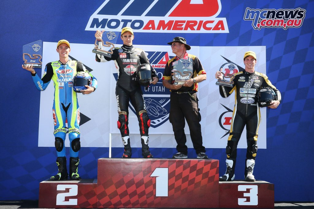 Superstock 1000 - Race 2 Podium