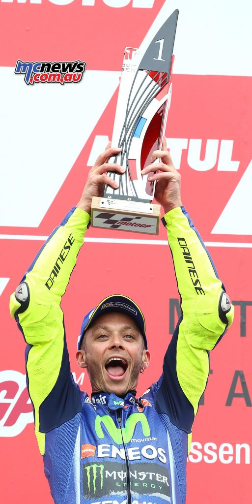 Assen 2017 was the last time Yamaha or Rossi won a race - Image AJRN