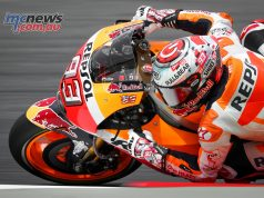 Marc Márquez pleased his home crowd by topping timesheets as MotoGP got underway at Catalunya
