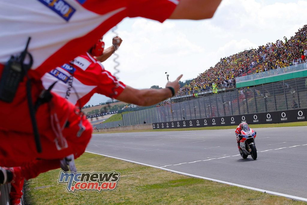 Andrea Dovizioso takes magnificent win at Mugello for Ducati - Italian rider on Italian bike at the Italian GP!