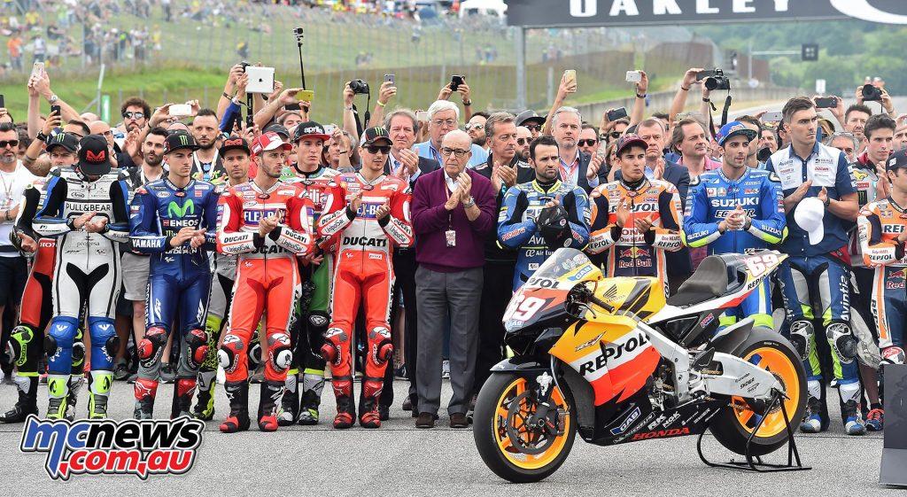 The MotoGP Mugello Hayden Tribute