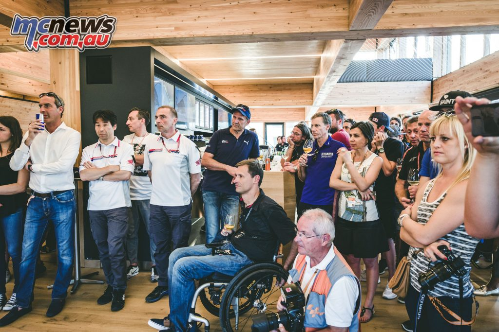 Guests at the Red Bull MotoGP Energy Station - Image by Marco Campelli