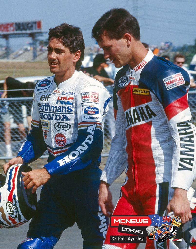 Mick Doohan and Doug Chandler