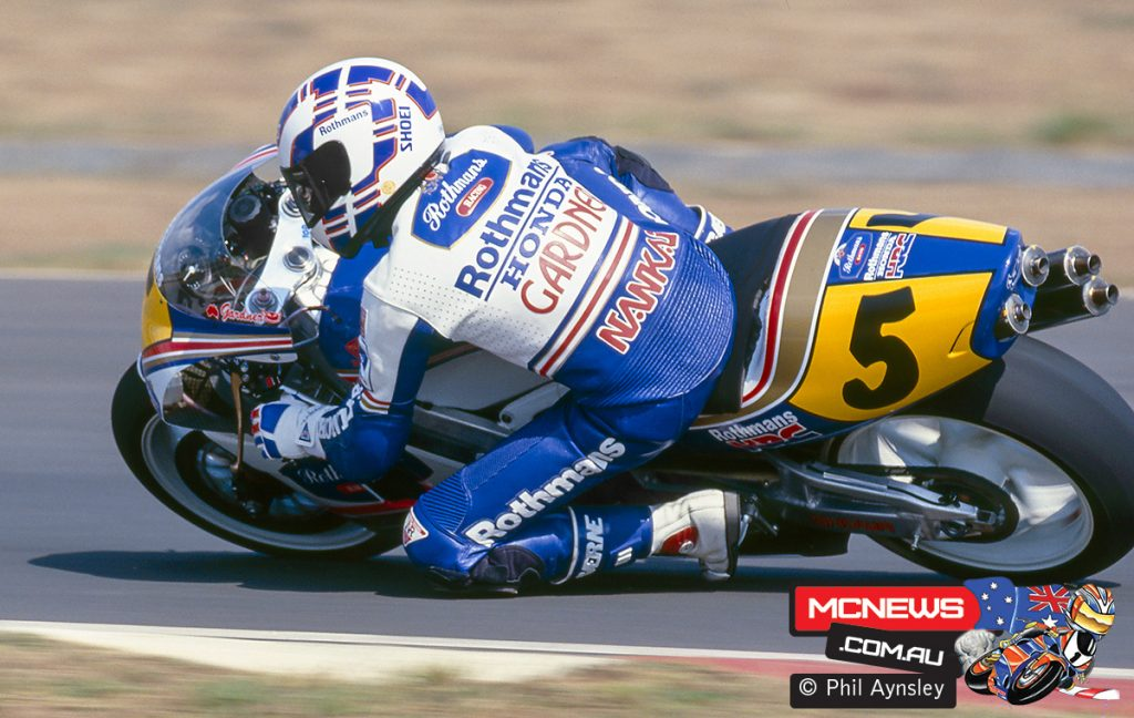 Wayne Gardner - Honda NSR500 - Eastern Creek - 1991 Australian Grand Prix - Image by Phil Aynsley