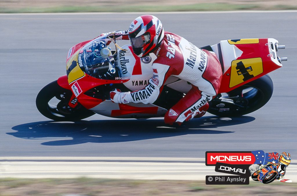 Wayne Rainey suffered his career ending crash at Misano - Image by Phil Aynsley