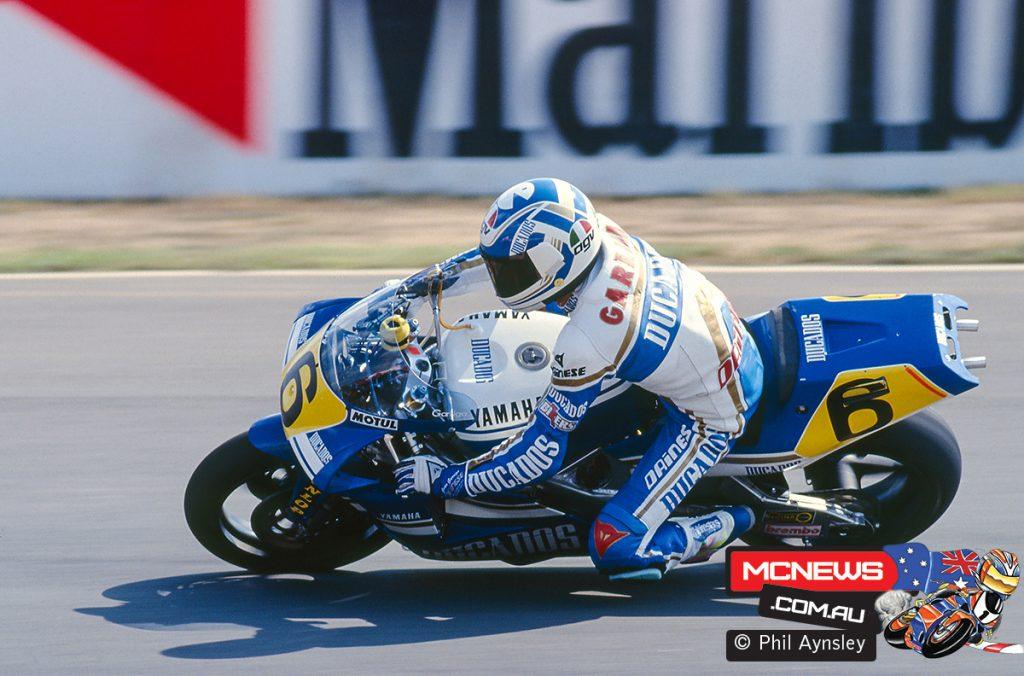 Juan Garriga and the Yamaha YZR500