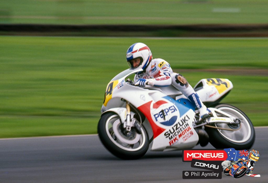 Schwantz on the Suzuki