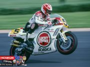 Kevin Magee at the Phillip Island Grand Prix in 1989 - Image by Phil Aysnley