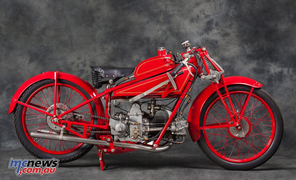 The bike also won the German GP at Avus in 1924