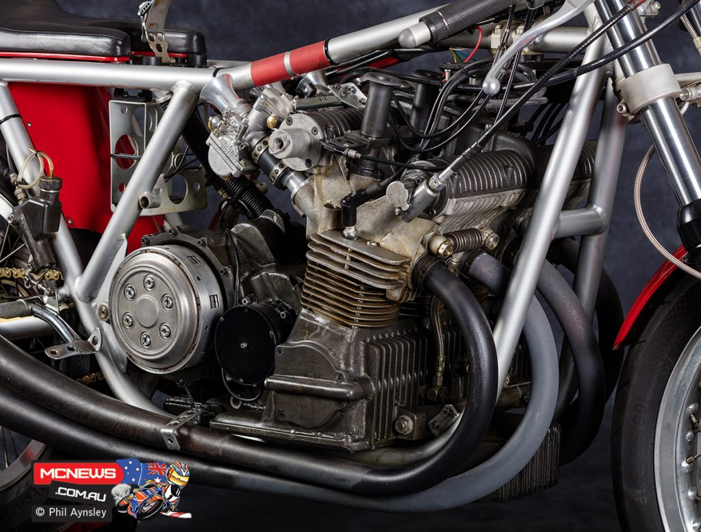 The USR engine was also used in sidecar racing