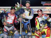 Jason Doyle topped the SGP podium in Czech Republic