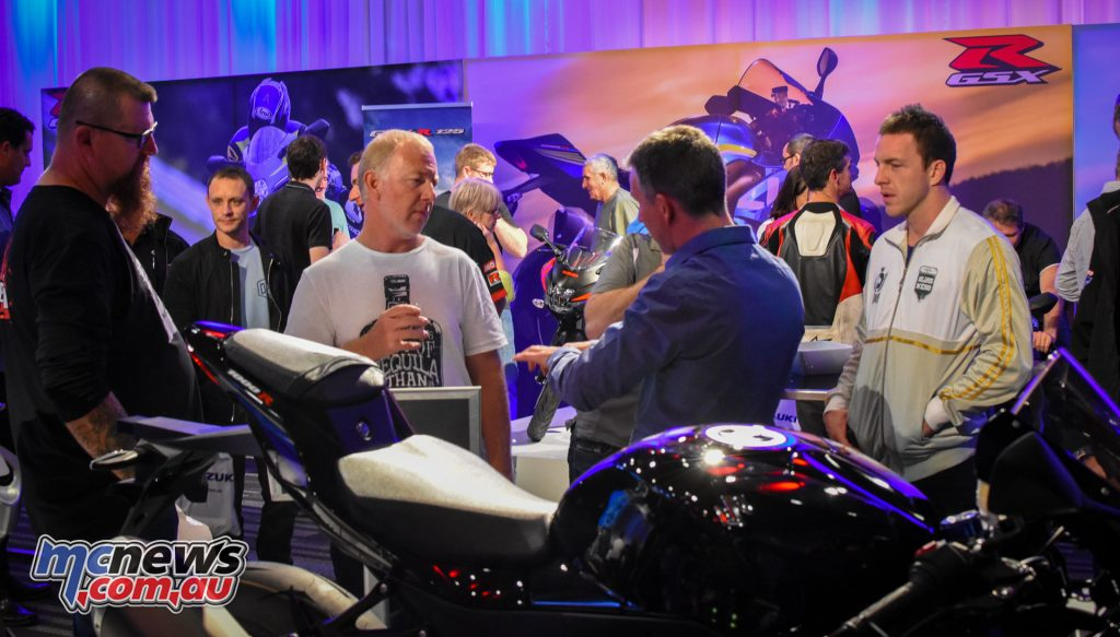 The Suzuki Motorcycle Road Show in Brisbane proved a great success