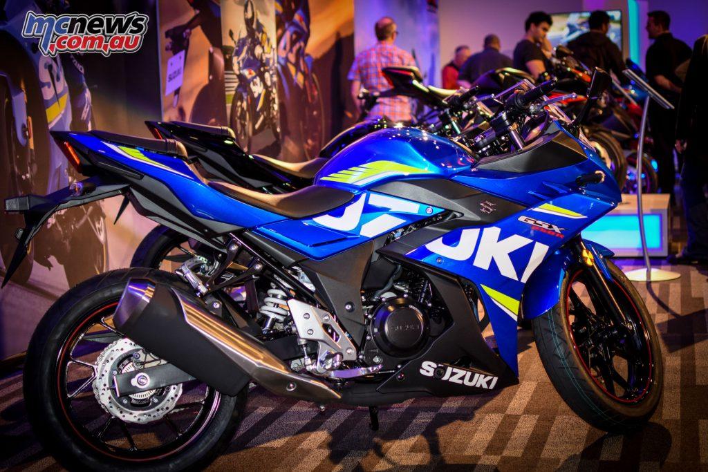 Suzuki Motorcycle Road Show Brisbane - GSX250R