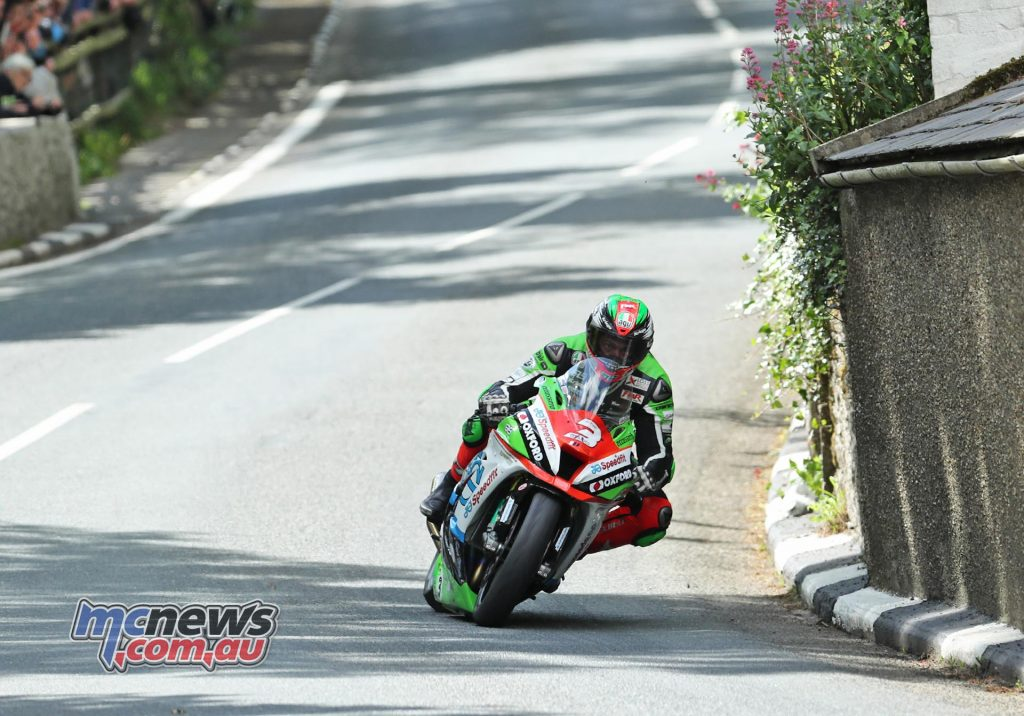James Hillier at the bottom of Barregarrow