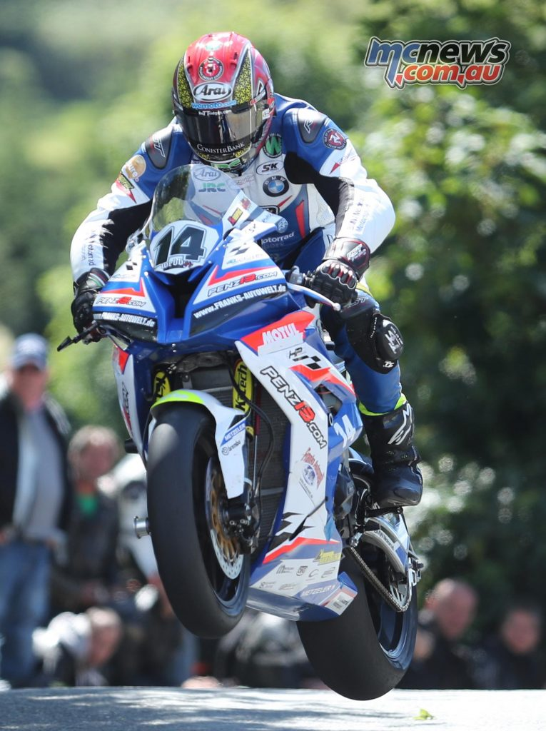 Dan Kneen overcame a pit lane penalty to take fifth from Rutter