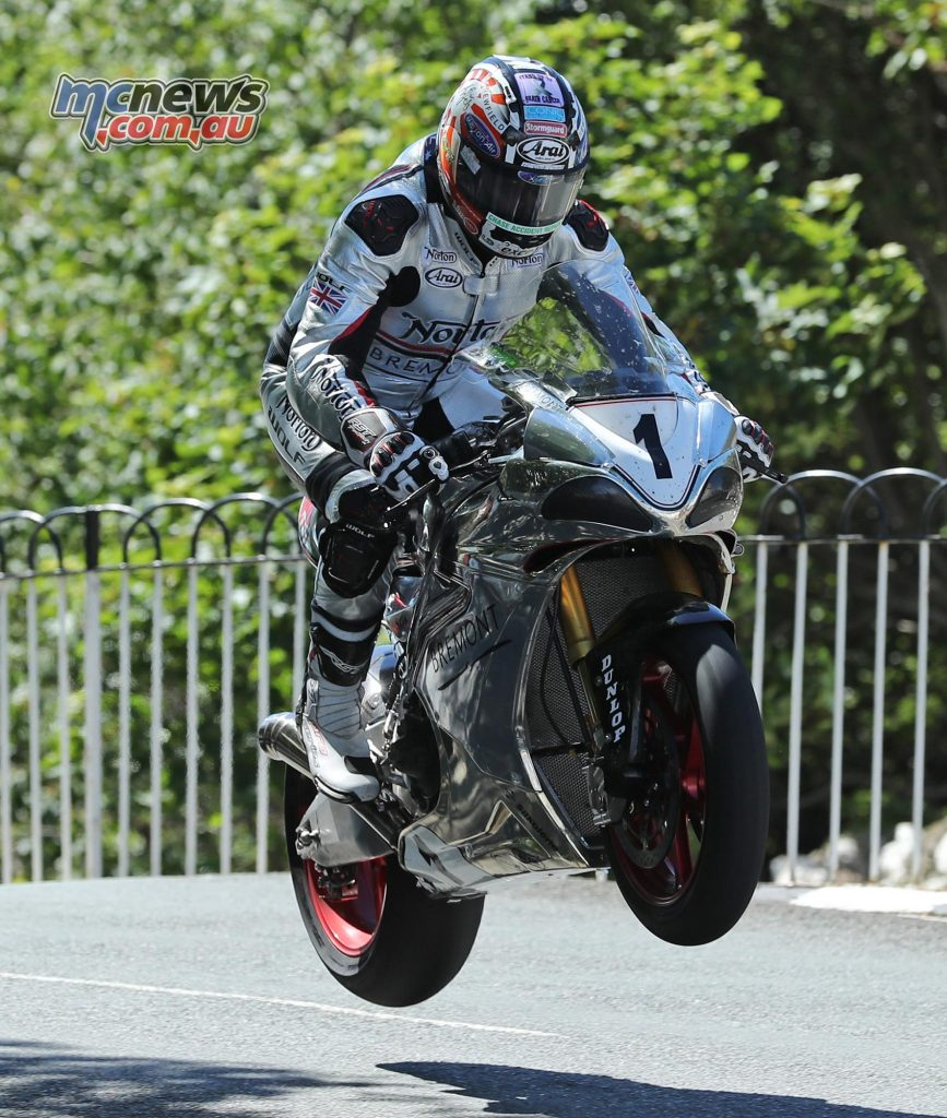 David Johnson at Ballaugh Bridge