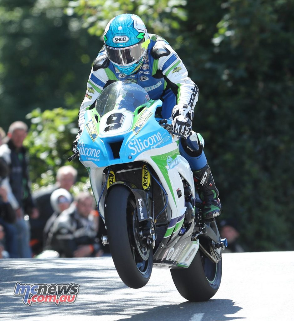 Dean Harrison at Ballaugh Bridge