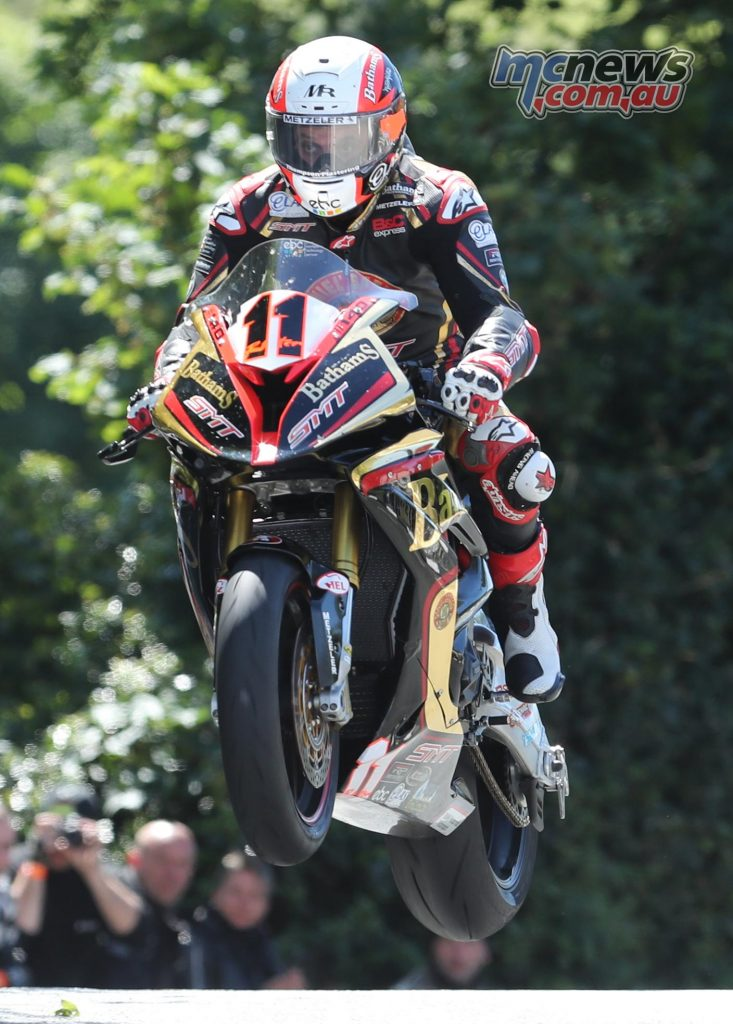 Michael Rutter at Ballaugh Bridge