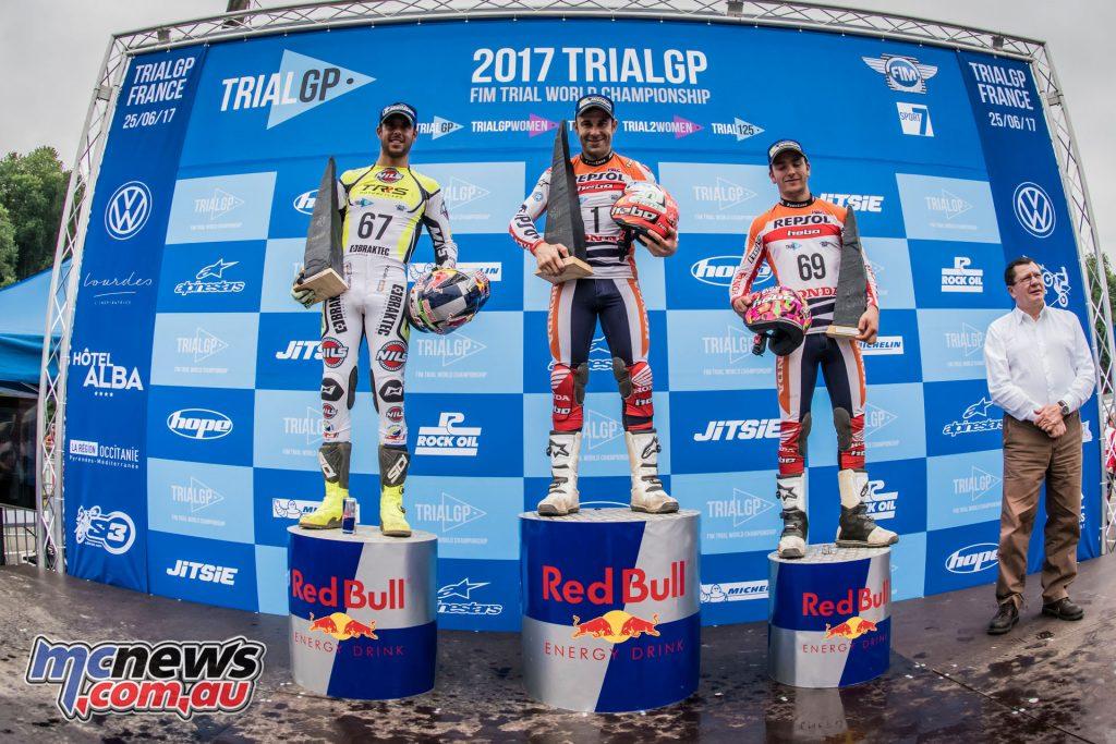 TrialGP Podium France - Round 4