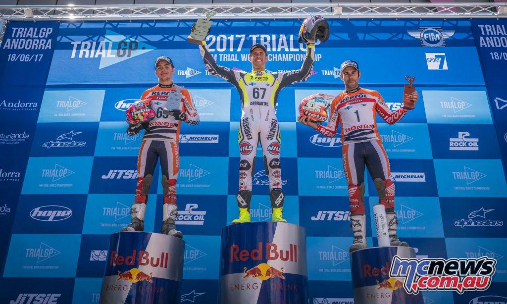 TrialGP Round 3 - Andorra - Podium