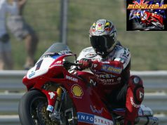 Troy Bayliss at Misano