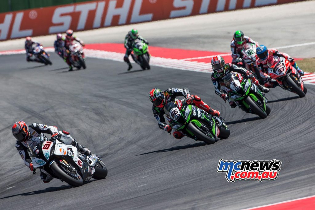 Jordi Torres (Althea BMW Racing Team) had held the lead for 8 laps but he was hugely frustrated to drop out of the race with a technical problem with just 3 laps to go when riding in second place.