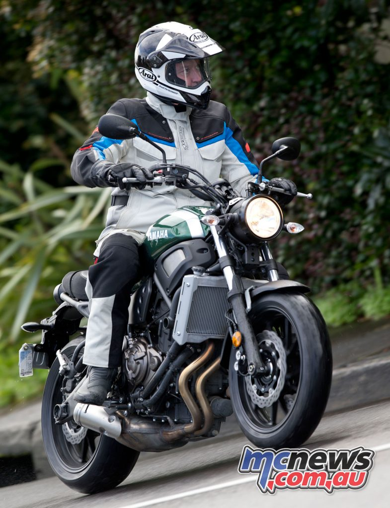 The XSR is interesting in that it has enough power to require respect from a new rider, and can provide plenty of thrills for a more experienced rider