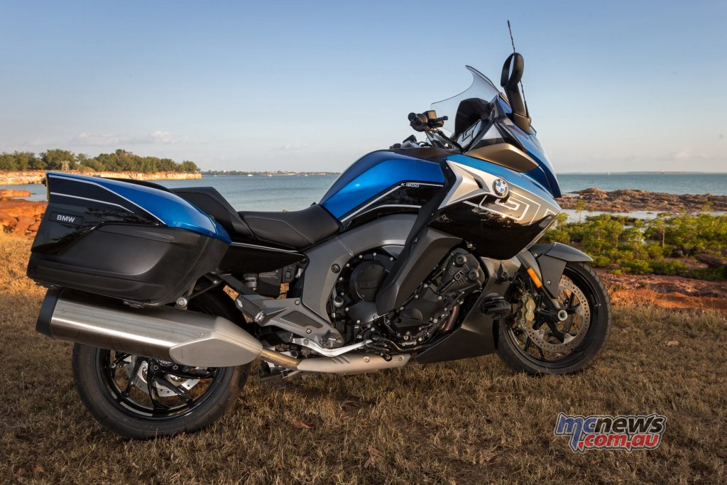 The BMW K 1600 GT overlooking Darwin's Fannie Bay - Image by Andrew Gosling