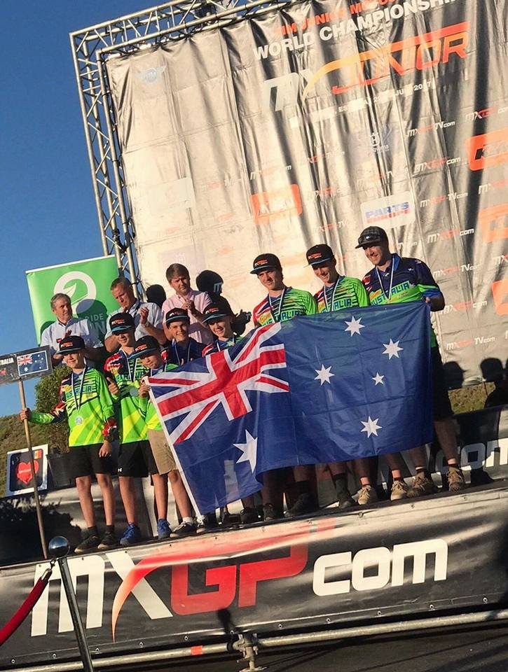 Australian FIM World Junior Motocross Team