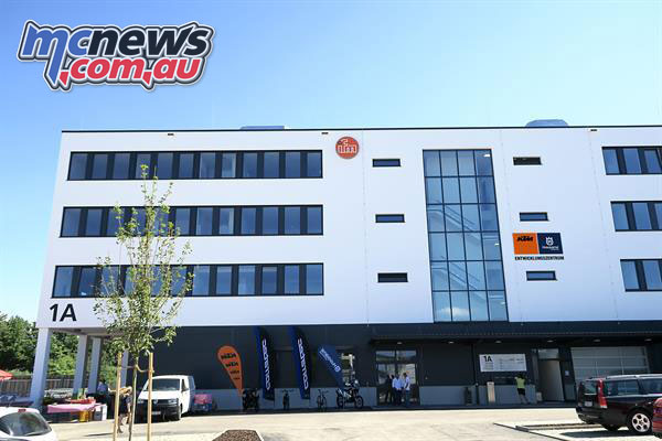 KTM's new German R&D Centre