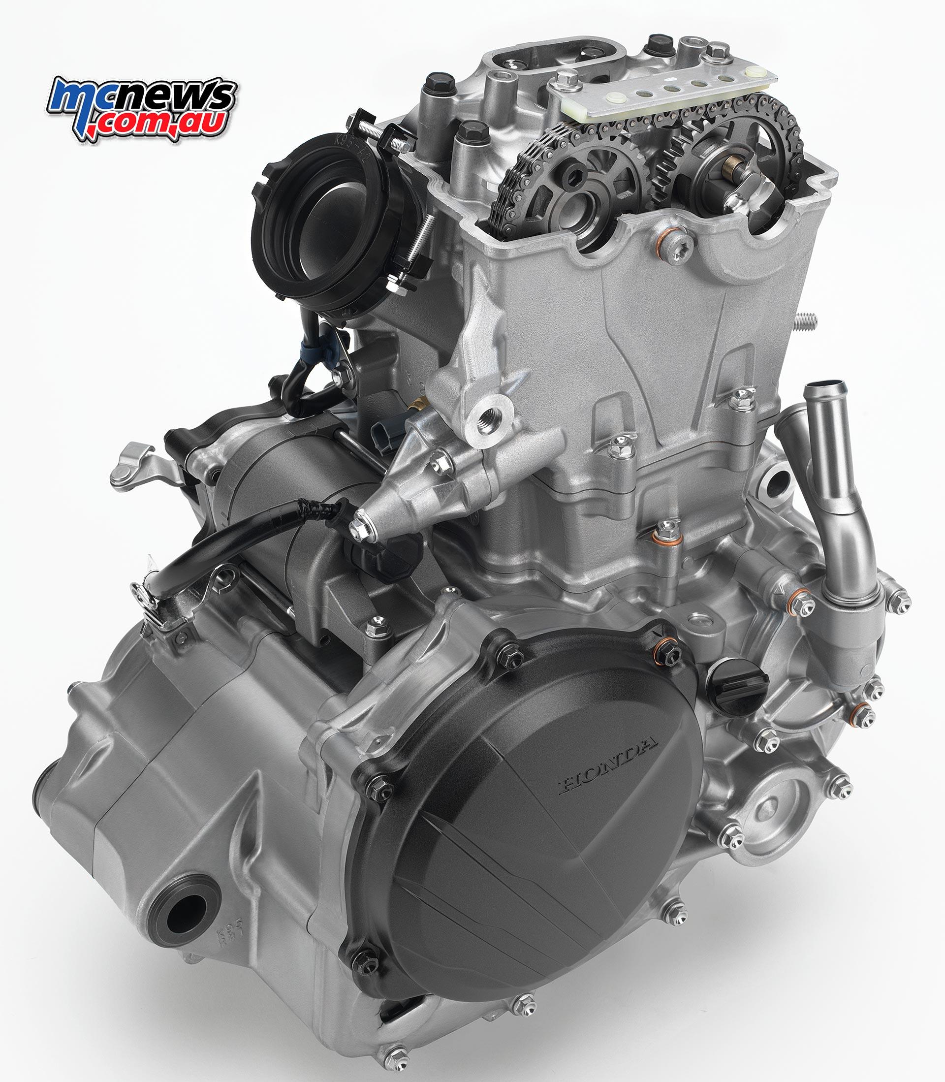 crfr  dohc engine crfr chassis mcnewscomau