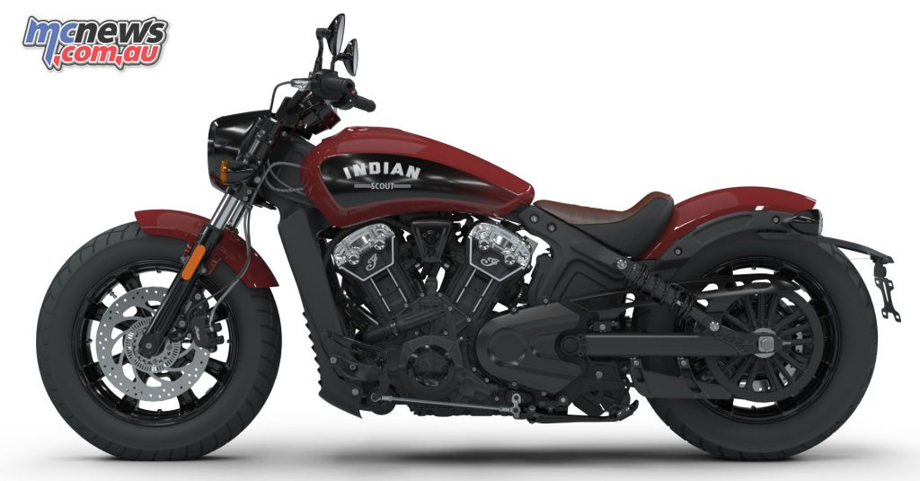 The Indian Scout Bobber will be available from 18,995 Ride-Away