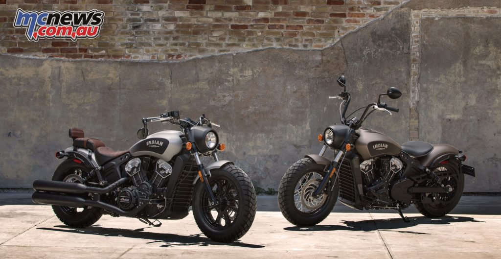 The new for 2018 Indian Scout Bobber