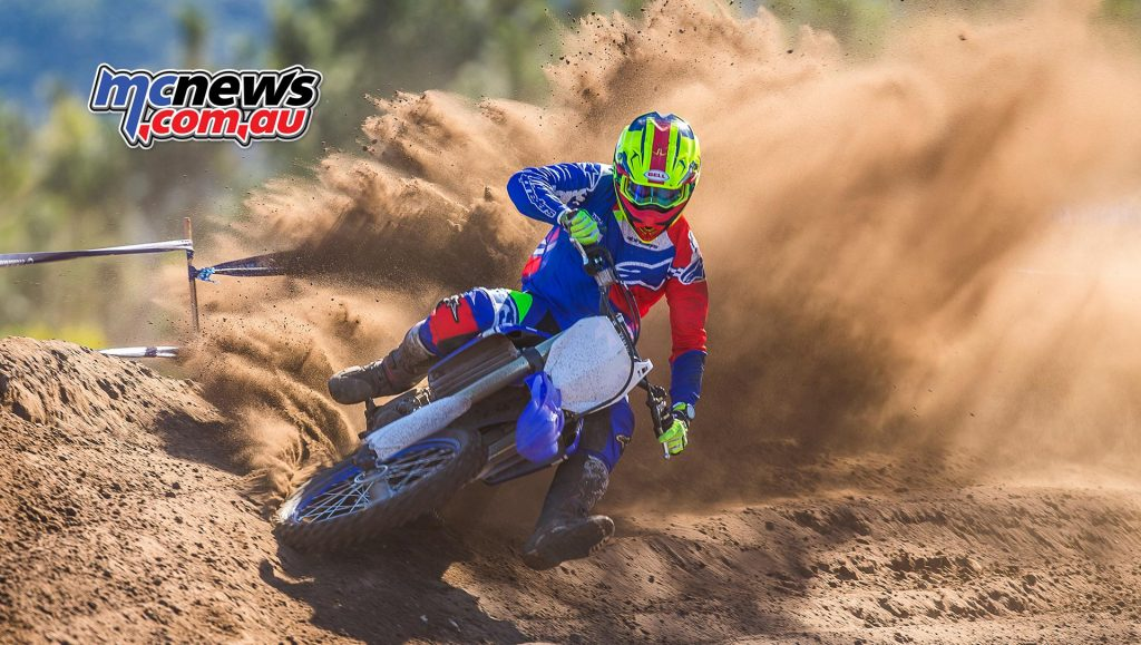 2018 Yamaha YZ450F - Todd Jarratt blasts through a berm