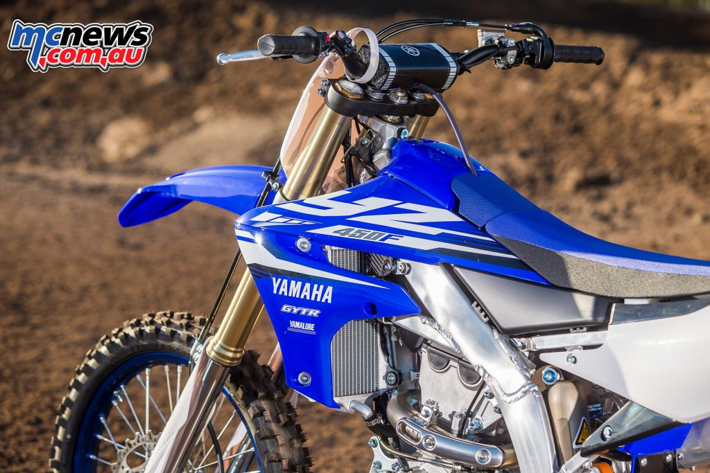 2018 Yamaha YZ450F - Fuel tank size down from 7.5 to 6.2 litres