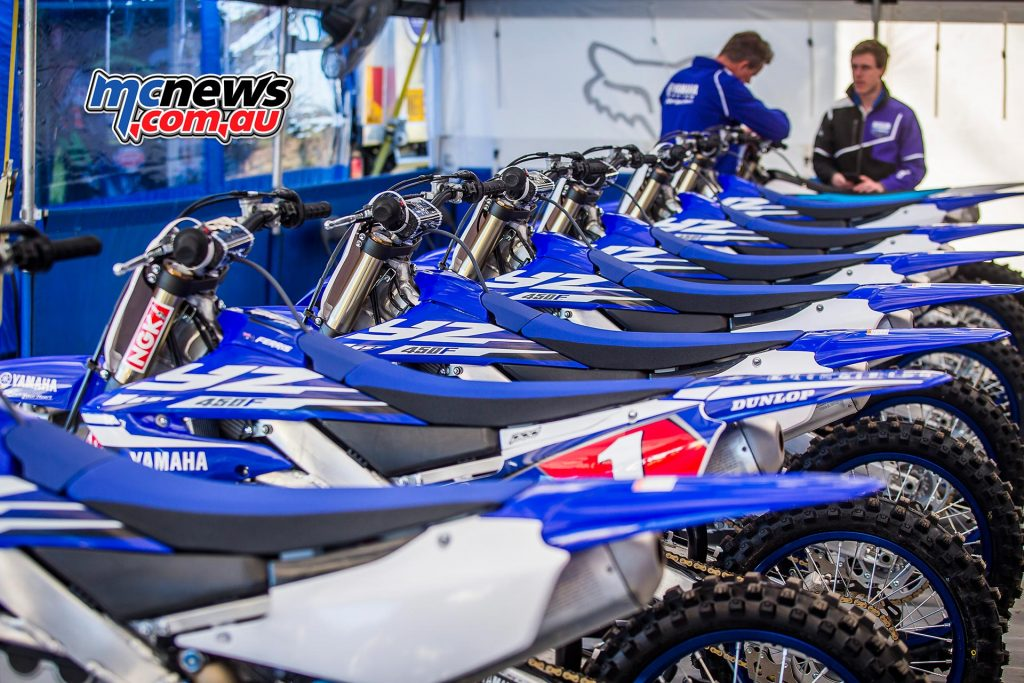 2018 Yamaha YZ450F - A line up to get excited about!