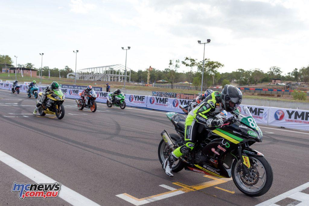 Supersport 300 Race 3 Start