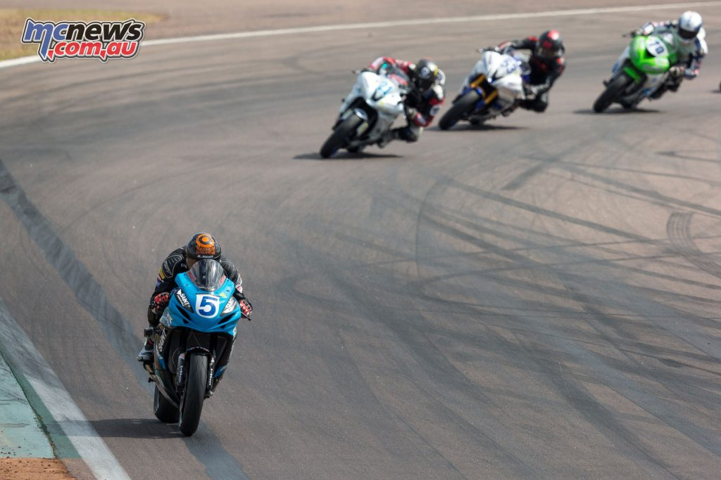 Ted Collins in Supersport Race 2