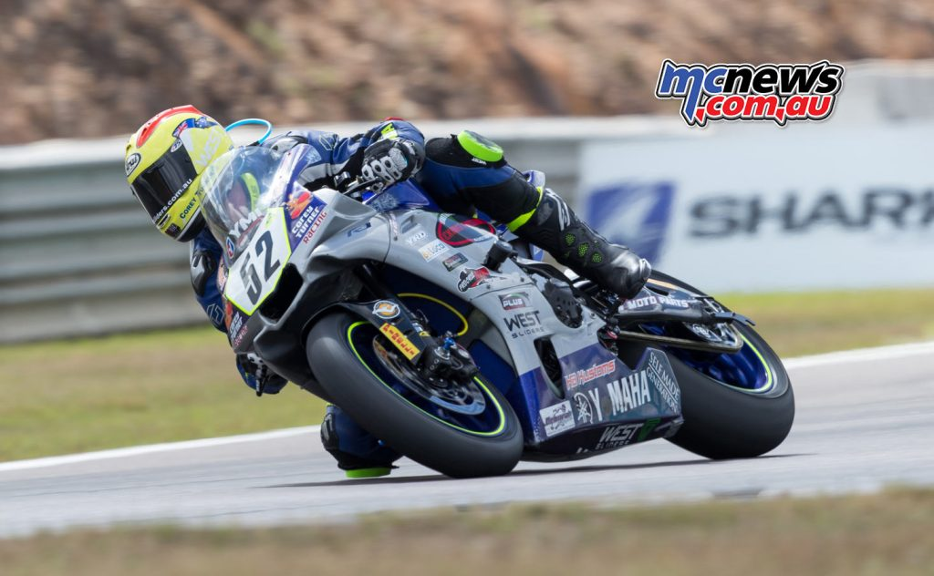 Corey Turner at Hidden Valley ASBK on Yamaha YZF-R1 - Image by TBG