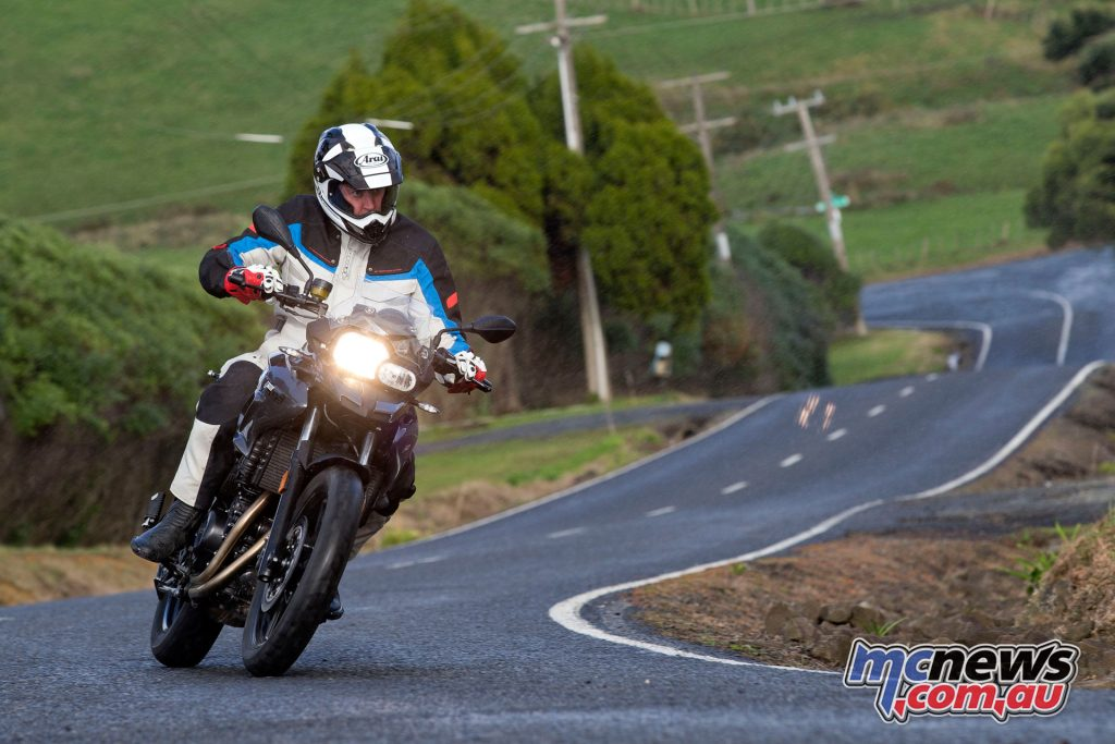 The F 700 GS is essentially a road bike with adventure style ergonomics and riding position