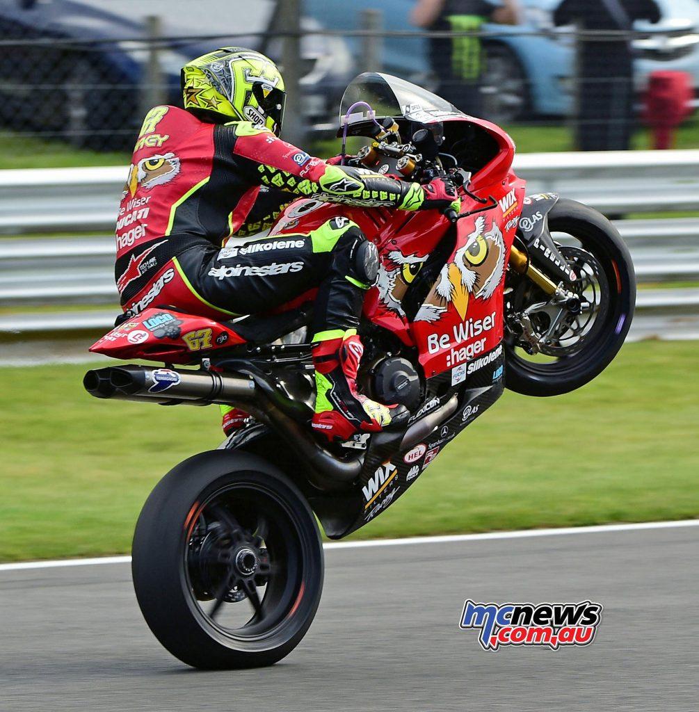 Shane 'Shakey' Byrne - Be Wiser Ducati - Image by Jon Jessop