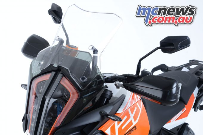 Barkbusters have released a range for the new 2017 KTM 1290 Super Adventure models