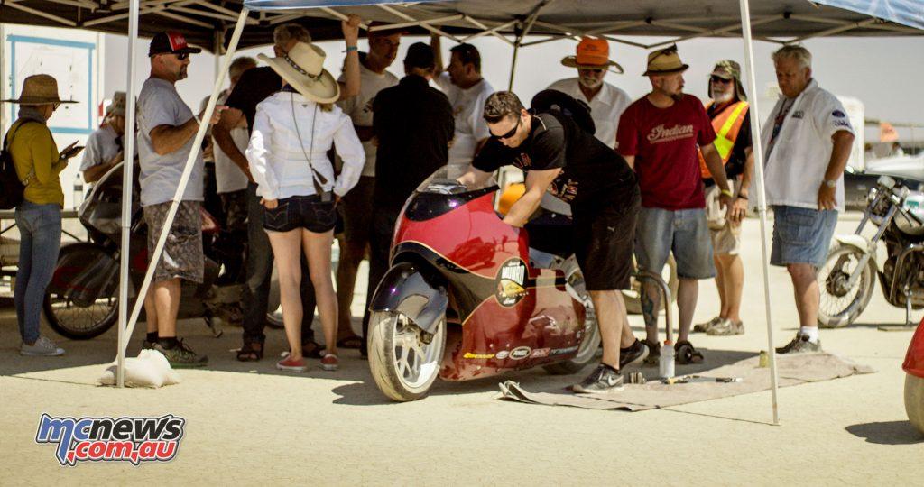 Preparation at El Mirage