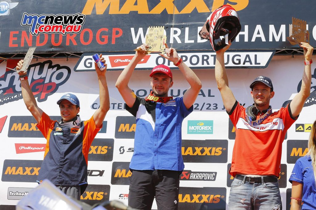 Enduro2 Podium Day 1