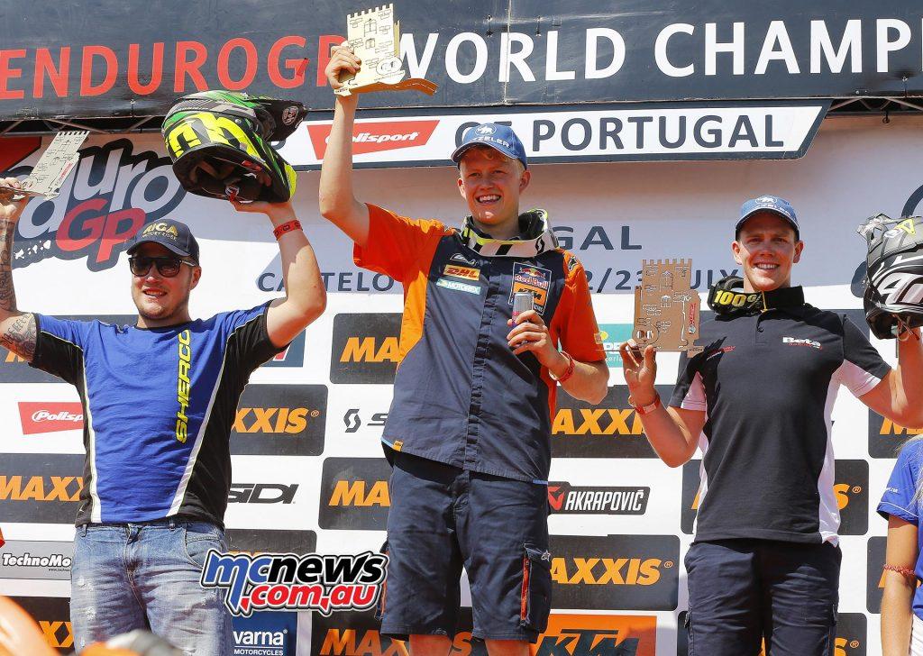 EnduroGP Podium - Portugal 2017