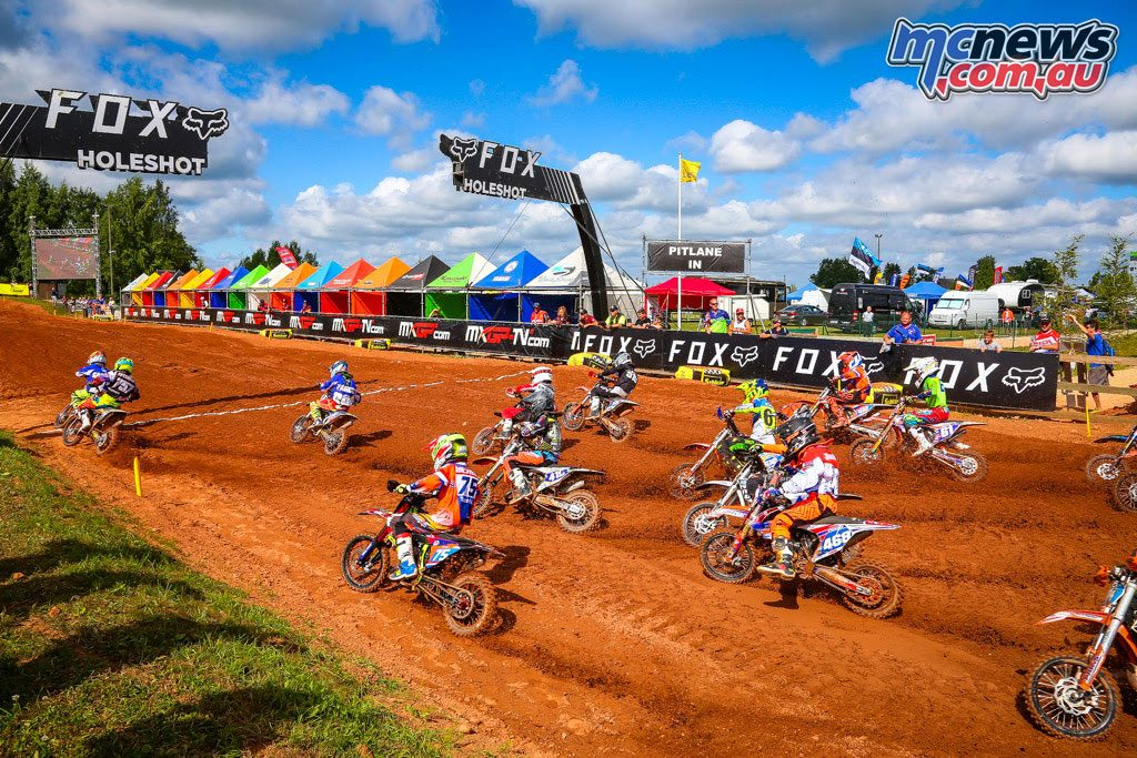 65cc MX Juniors start