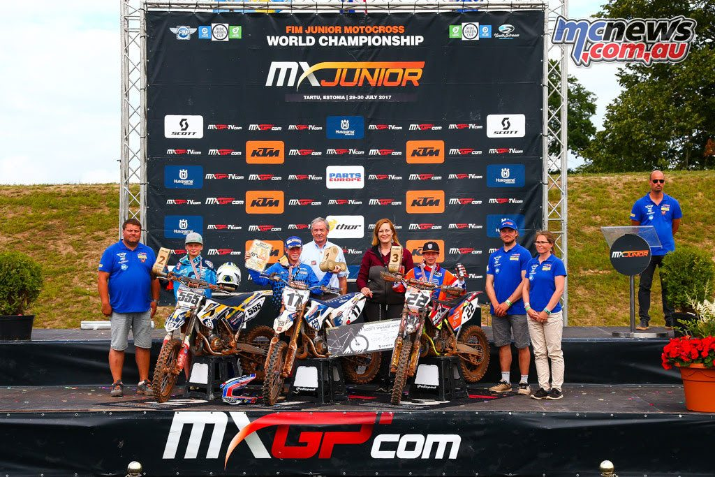 Estonia 85cc Podium