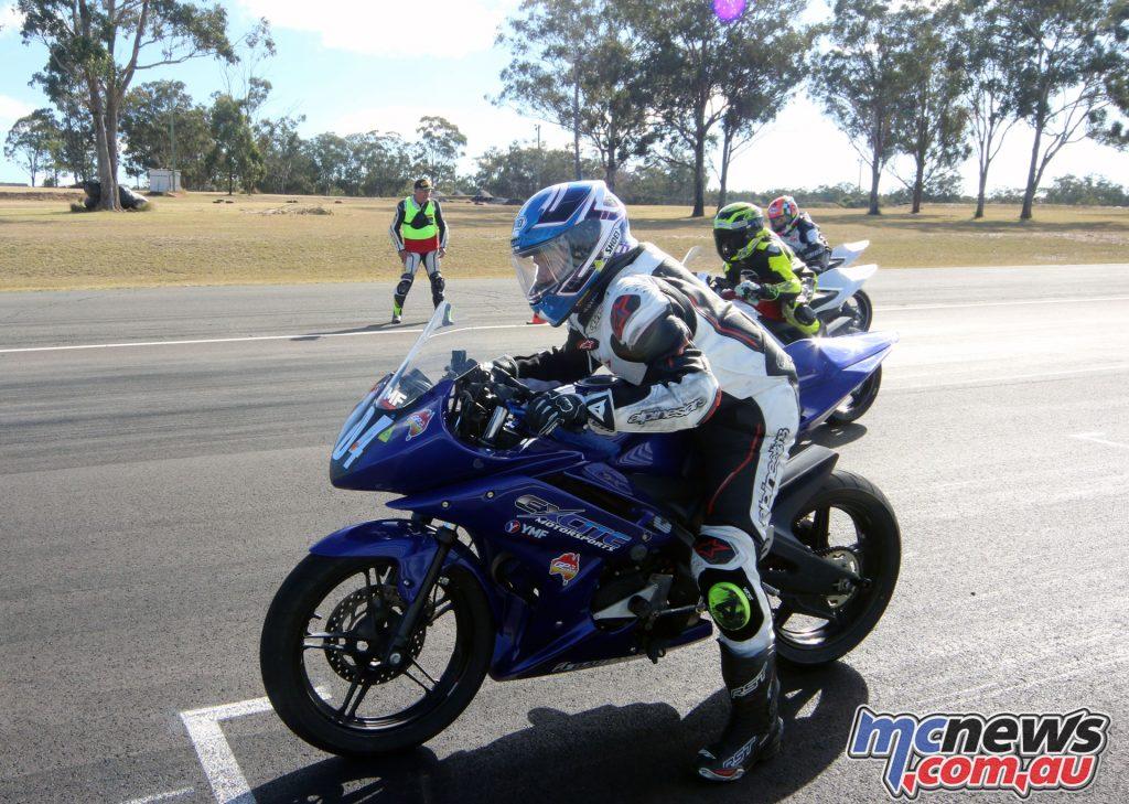 GP Juniors R15 on the start line
